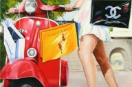 Red shoes and Vespa's '10